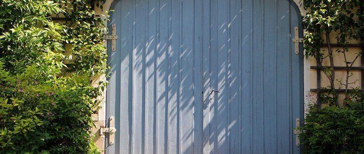 особености при гаражните врати
